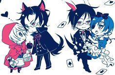 Ciel & Sebastian Alois & Claude