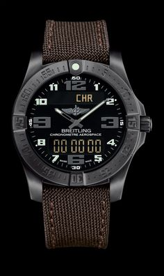 Aerospace Evo Night Mission - Breitling - Instruments for Professionals