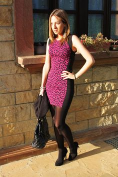 Leopard dress | Looks and shoes