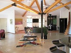 Contemporary Home Interior octagon home and lots of windows! | my dream house | pinterest