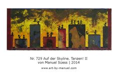 Collage, Skyline, Painting, Paper, Painting Abstract, Dance, Fresh, Canvas, Painting Art