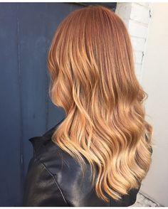 40 Brilliant Copper Hair Color Ideas — Magnetizing Shades from Light to Dark Copper Check more at http://hairstylezz.com/best-light-dark-copper-hair-color-ideas/