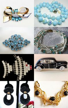 B Jewel for Mother's day... great #vintage #jewelry #gifts for any Mom from #VogueTeam
