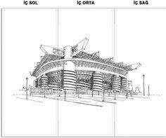 San Siro (Giuseppe Meazza) Stadyumu Kendin Tasarla - Broşür