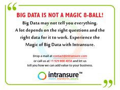 Big Data Reporting Services