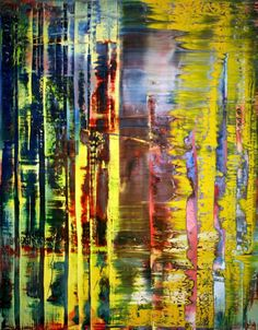 Abstract Painting 780-1 Artist: Gerhard Richter Completion Date: 1992 Style: Abstract Expressionism Genre: abstract Technique: oil Material: canvas