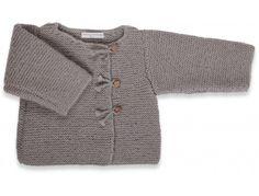 photo tricot modèle tricot gilet bébé gratuit 4