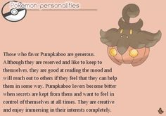 pokemon-personalities:#710, Pumpkaboo