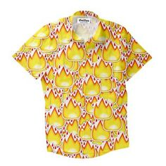 """""""The only thing more lit than that party last weekend is you, when you're wearing these flamin' dress shirt. Button Shirts, Button Down Shirt, Dress Shirt, Blouse, Button Downs, Party, How To Wear, Tops, Women"""