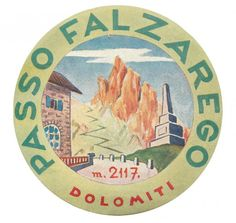 Luggage labels from the Dolomite passes! www.italianways.com/luggage-labels-from-the-dolomite-passes-and-stone-prayers/