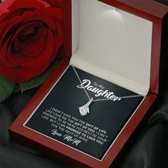 To My Daughter - The Gift Of You (Love, Mom) | Beautiful14K White Gold — Forever Cross Jewelry