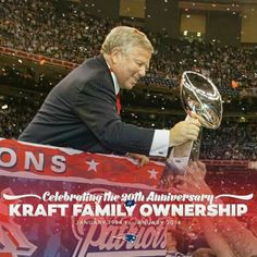 New England Patriots -- Robert Kraft