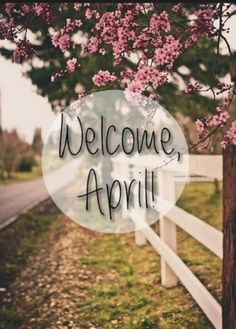 Welcome,April! discovered by ಌ Aileen ✿ ღ on We Heart It Hello September Images, April Images, Name Of Months, Months In A Year, Spring Wallpaper, Holiday Wallpaper, Cool Cover Photos, New Month Wishes, New Month Quotes