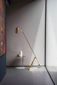 New Bert Frank Stasis Floor Lamp