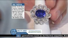 Tune into the most exquisite jewelry on television 24/7! New jewelry arriving daily – Blue Sapphire Necklaces, Red Ruby Rings, Green Emerald Earrings, Yellow Diamond Bracelets and more stunning jewelry at Gem Shopping Network. Call in for pricing.   Item #186-142918 Blue Sapphire Necklace, Emerald Green Earrings, Ceylon Sapphire, Sapphire Diamond, Ruby Rings, Diamond Bracelets, White Gold, Necklaces, Gemstones