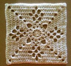 This was so easy! Free pattern on Ravelry by Destany… Crochet Granny, Crochet Motif, Crochet Doilies, Crochet Flowers, Knit Crochet, Crochet Patterns, Crocheted Afghans, Crochet Ideas, Afghan Patterns