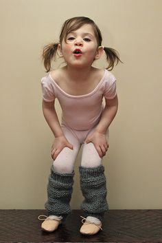 DIY girls' knit legwarmers w/pattern (I bet you could recycle sleeves off of old sweaters)