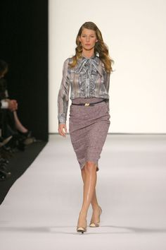 After 15 years of walking the world's runways, last Wednesday Gisele Bündchen announced that she is hanging up her show stilettos. A past master at the art of the walk, the Amazonian model made countless Fashion Week appearances with her signature coltish strut and the infectious energy that earned her supermodel stripes alongside Kate Moss, Naomi Campbell and Christy Turlington. We look back through the archive, at the 50 shows that influenced the Brazilian model's career.