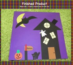 HALLOWEEN CRAFT - FOLLOWING DIRECTIONS - TeachersPayTeachers.com
