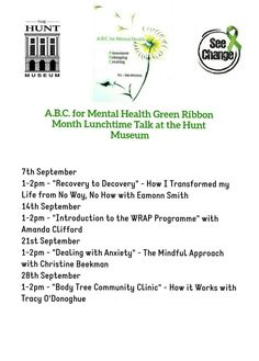 Wrap Program, Number 15, Deal With Anxiety, Green Ribbon, Clinic, It Works, Mindfulness, Nailed It, Consciousness