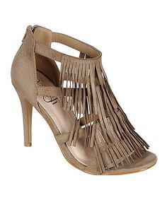 Look what I found on #zulily! Taupe Betty Sandal #zulilyfinds