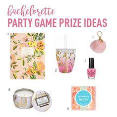 Bachelorette Party Games Prize Ideas