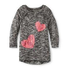 Girls' Heart Hi/Lo Tunic