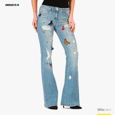 Jeans donna ANNARITA N 106 Blu