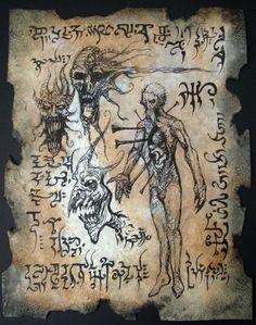 Curse of the Necromancer by MrZarono