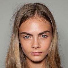 Beauty look: no makeup