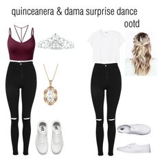 U0026quot;Quince Finall part / Chambelanes surprise dance ootdu0026quot; by teresa760 on Polyvore featuring ...