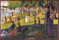 "Special Exhibition Gallery - The Masterpieces of French Painting, 1800-1920: Study for ""A Sunday on La Grande Jatte,"" 1884-85"