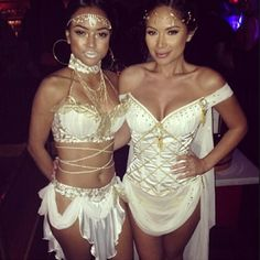 Sexy Greek goddess costume.