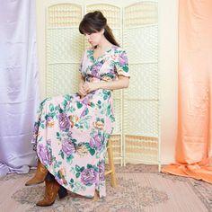 BohoKimono - Sustainable Clothing, Boho Clothing | BohoKimono Fringe Kimono, Boho Kimono, Kimono Fashion, Midi Dresses Uk, Floral Midi Dress, Evening Blouses, Brown Floral, Sustainable Clothing, Boho Outfits