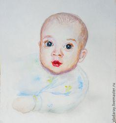 Купить портрет акварелью по фото - портрет на заказ, карандашный портрет, портрет ребенка на заказ
