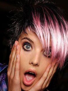 glam punk hair - Google Search