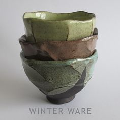 Clementina Ceramics STACKED TEABOWLS
