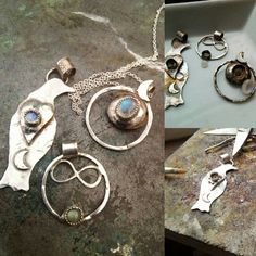 A few new little trinkets. All polished up and ready to send out...