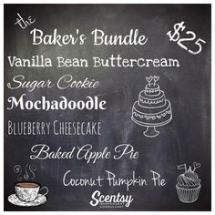 Scentsy Bakers Bundle Order: https://breed.scentsy.us Email Me: ScentsyWithBrandi@hotmail.com Follow me: facebook.com/reed.brandi16 Text me: 208-680-9386