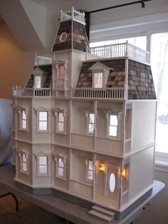 Hi Everyone I have just finished working on a Newport Dollhouse with Addition. This is a very customized dollhouse! My client has chosen ...