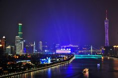 New York is one of the most visited cities in the world, but it's not THE most visited city. Here are 25 Most Visited Cities In The World You Should Visit. Guangzhou, Places Around The World, Around The Worlds, Visit China, Night City, China Travel, City Photography, Most Visited, Beautiful Landscapes