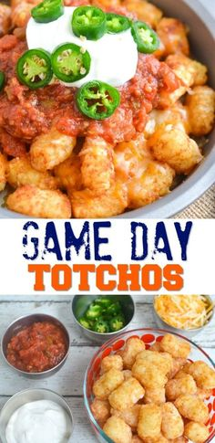 Game Day Totchos Recipe - Easy & Delicious Tater Tot Nachos