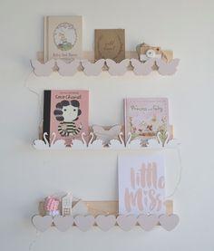 Heart Bookshelf by MiTAHLi DESIGNS