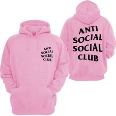Anti Social Social Club Mind Games Hooded Sweatshirt - SenseOfCustom
