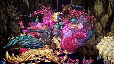 "Animation : Kanahebi Music : "" Feasting on Energy "" by Magic Lantern"
