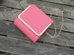 bag, coral, gold, blogger, fashion