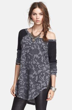 Free People 'Bed of Roses' Pullover