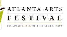 The Atlanta Arts Festival - September 14 & 2013 in Piedmont Park Piedmont Park Atlanta, Atlanta Art, Future Artist, Call For Entry, Art Festival, September, Fun Things, Festivals, Favorite Things