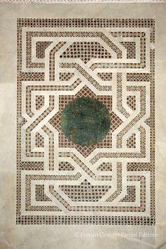 Mosaico pavimentale (XII sec.) - Cappella palatina - Palazzo dei Normanni - Palermo
