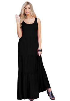 Tiered Maxi Dress - I want all three colors!!!